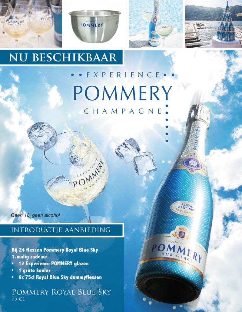 Pommery aanbieding bij Verbeek Wijnimport